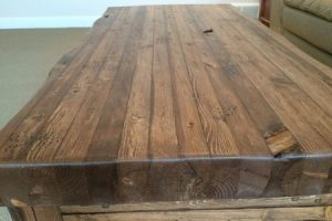 "3"" Butcher block"
